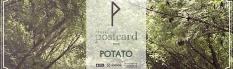 Postcard - POTATO (Eng Lyrics, French lyrics)