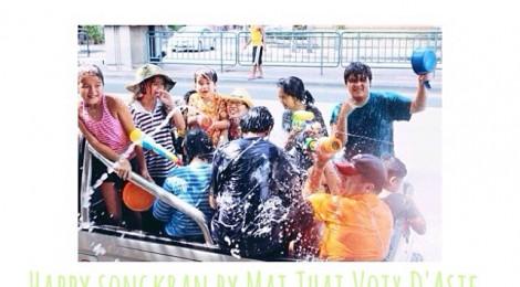 Bonne Année 2557 - สวัสดีปีใหม่ไทย ๒๕๕๗ - SONGKRAN