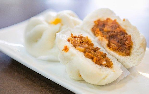 Brioche Salapao fourrée à la farce de viande - cr : eat.edtguide.com