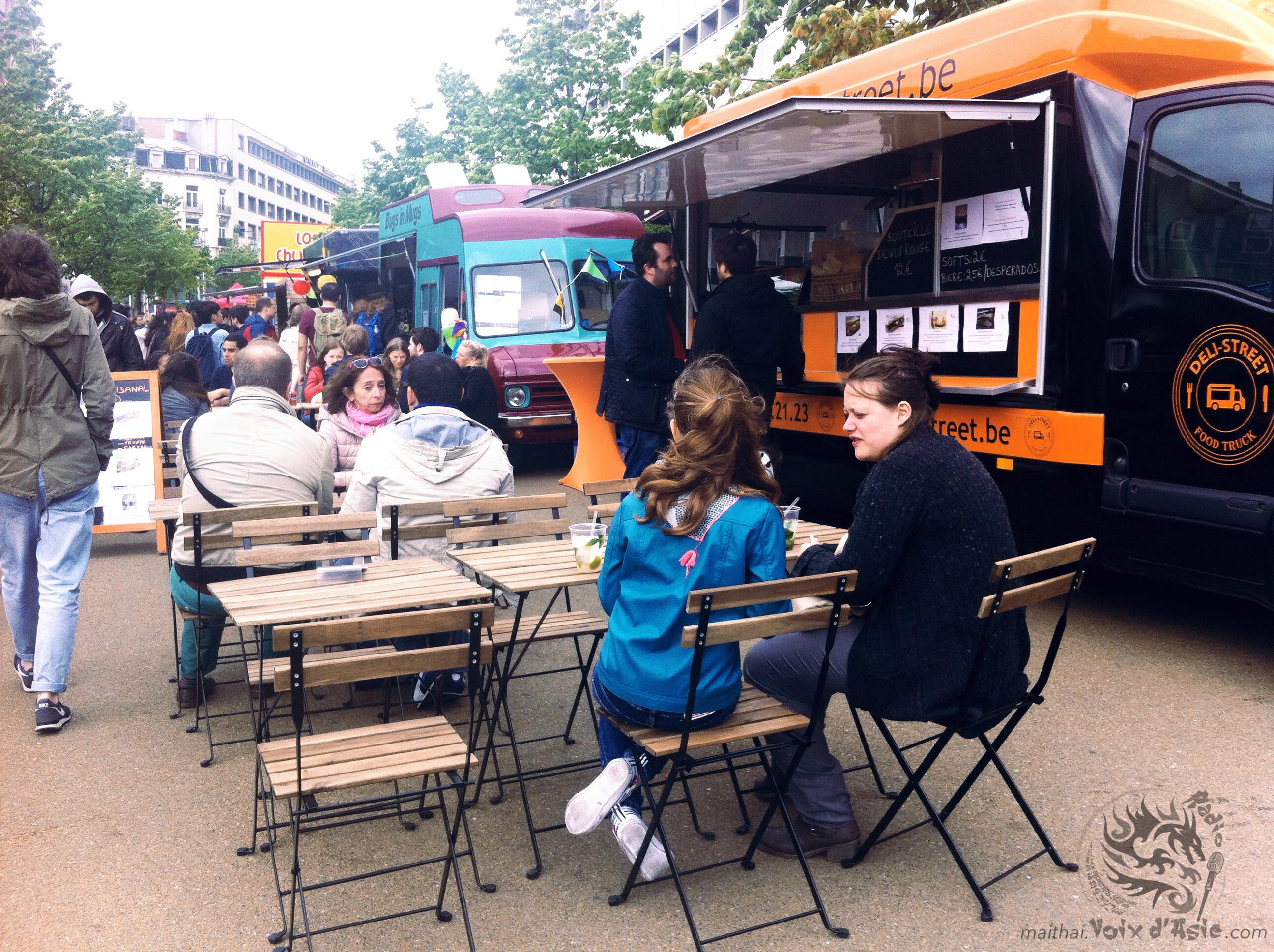 Brussels Foodtruck Festival 2015  