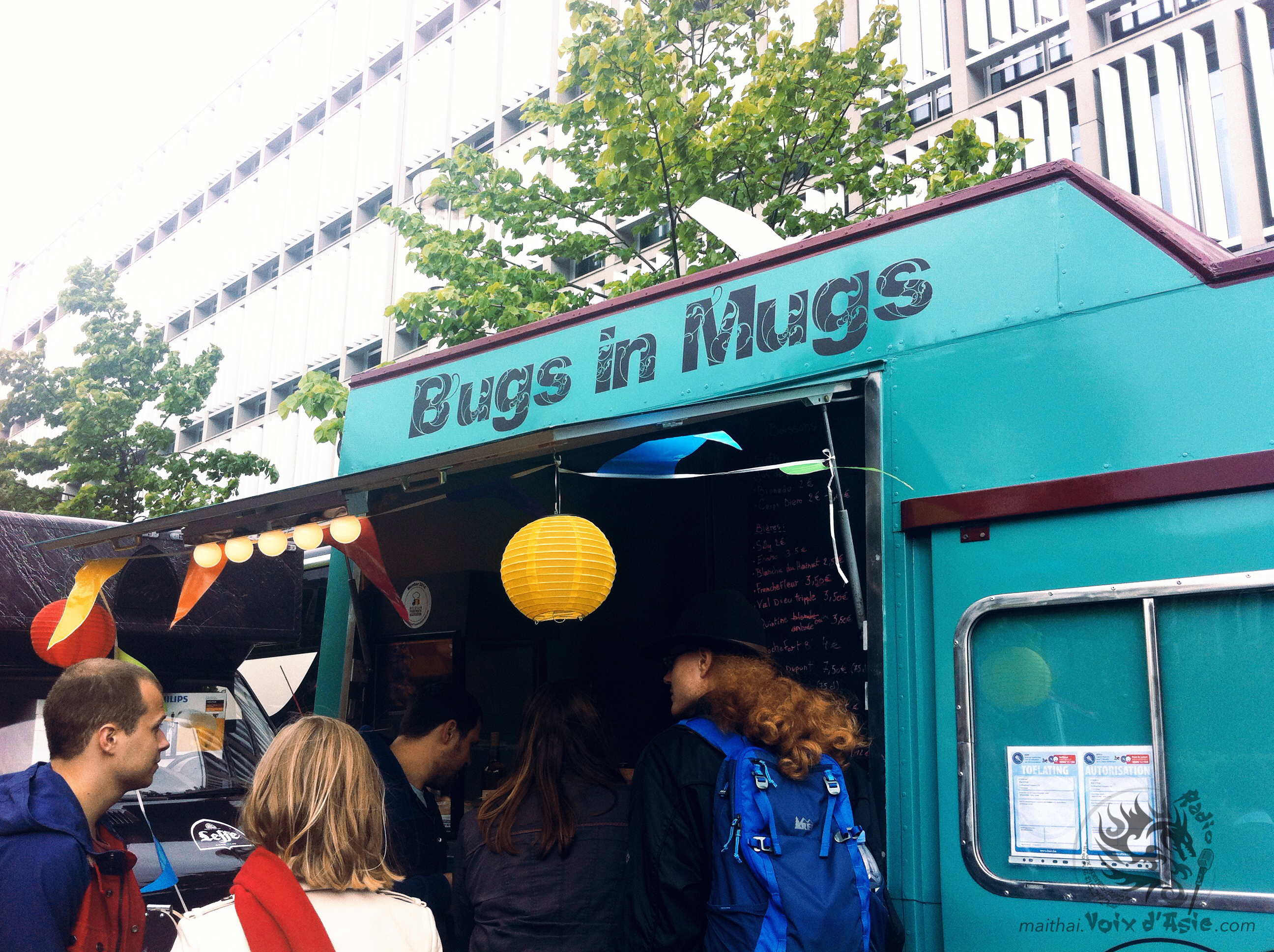 Brussels Foodtruck Festival 2015 | Bugs in Mugs Truck
