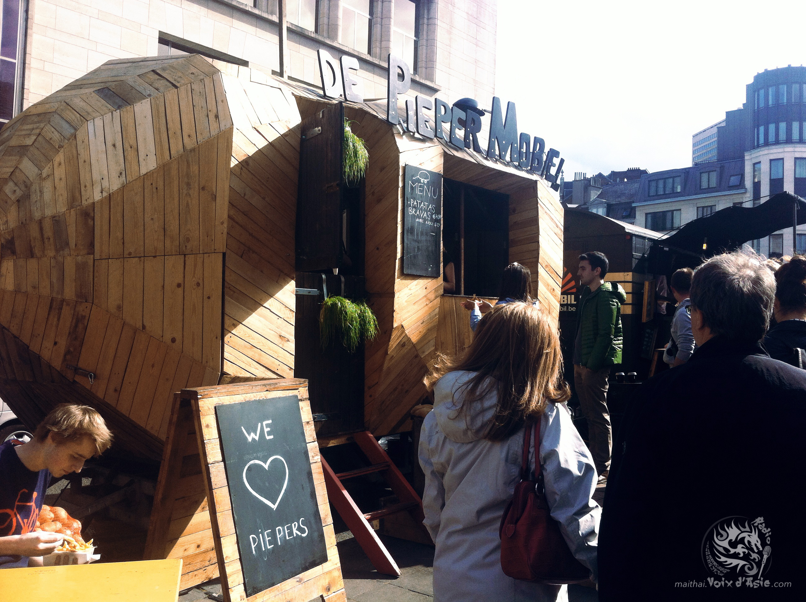 Brussels Foodtruck Festival 2015 | Chang Noi